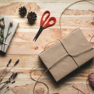 picture of Xmas wrapping